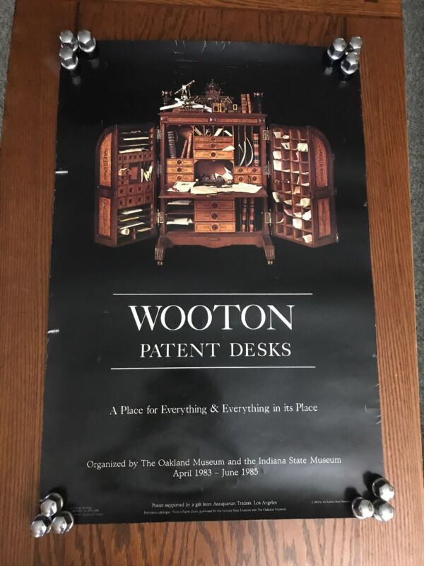 Wooton Patent Desks Place for Everything & Everything in Its Place 30X20 Poster