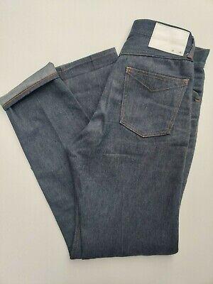 Takahiromiyashita the Soloist Jeans (29W/30L) Slim Straight Mid Blue TTS