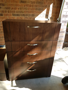 CAPTAIN SNOOZE Tallboy Chest Of Drawers & Optional Bedside Table! Caulfield Glen Eira Area Preview