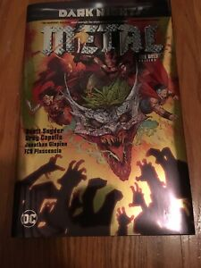 Dark nights: Metal The Deluxe Edition Hardcover graphic novel
