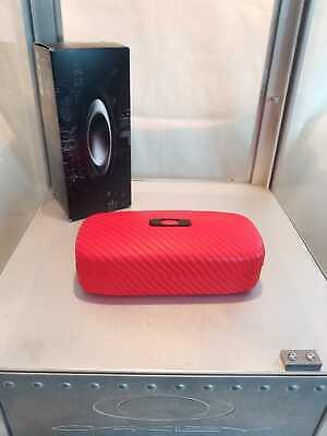 Oakley Square Hard Case Tomato Red Rot Brillenetui 100-270-004 Sonnenbrille