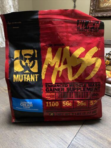 Mutant MASS 5lb: Enhanced Muscle Mass Gainer Supplement