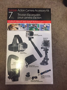 GoPro Hero4 with Action Camera Accessory Kit