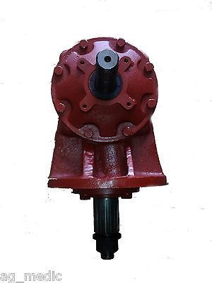 Universal Fit 75hp Rotary Cutter Gearbox 6 Spline Input 15 Spline Output