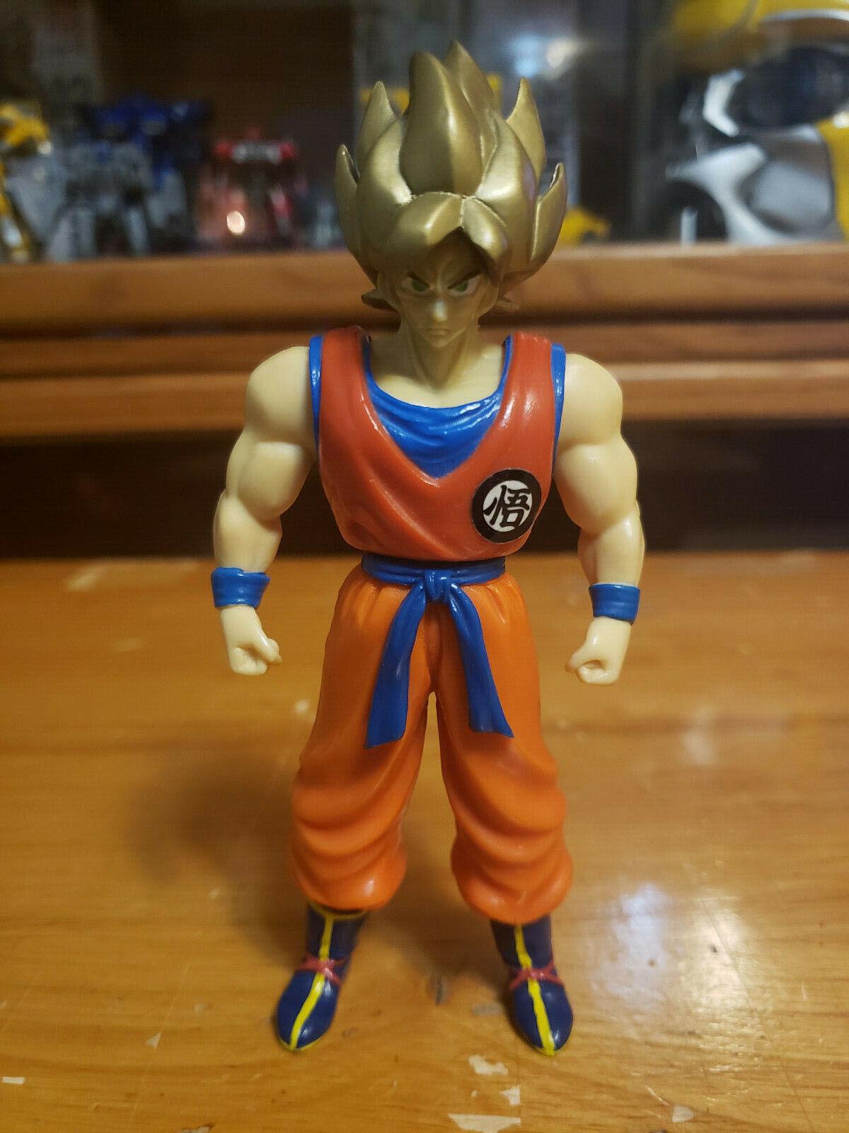 Character:Super Saiyan Goku Vol 2 (Gold hair):BANDAI Dragonball Z  and Dragon Ball GT super battle collection AB Toys & Irwin