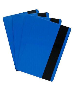Zebra Plastikkarte Drucker (5 Magnetkarten blau, LOCO, Plastikkarten, Ausweise, Kartendrucker, PVC, Zebra)