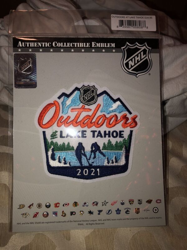 2021 NHL Outdoors @ Lake Tahoe Official Patch
