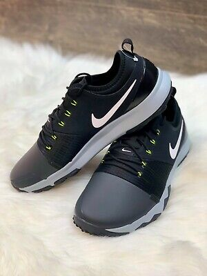 Nike FI Impact 3 Golf Shoes Mens Size 11 Wide Black Spikeless AH6960 003