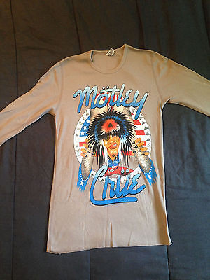 NEW Motley Crue Allister Fiend Long Sleave Thermal Shirt - Size S