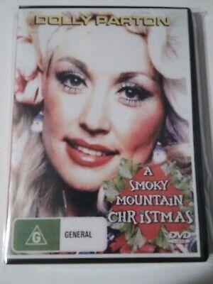 A SMOKY MOUNTAIN CHRISTMAS DVD Dolly Parton Free USA Shipping
