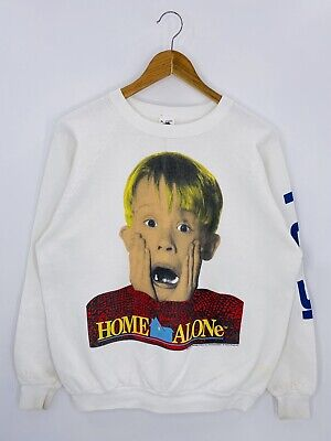 1991 HOME ALONE Made in USA Size XL Vintage Sweat-Shirts / b5