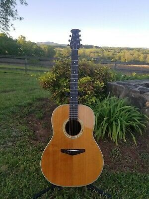 1969 Ovation Balladeer Shiny Bowl Guitar
