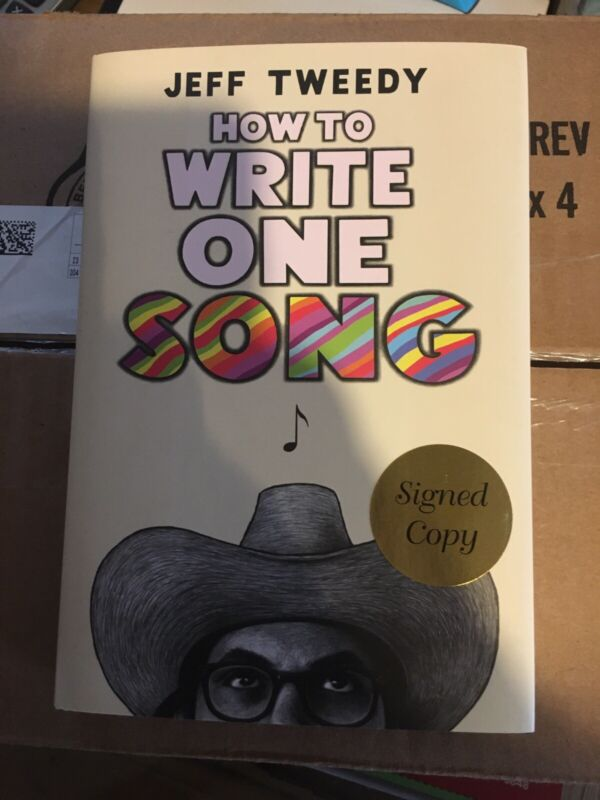 Jeff Tweedy Signed Book, How To Write One Song.