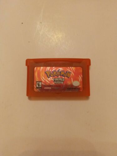 Pokemon FireRed Version Game Boy Advance, 2004  - $11.00
