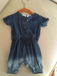 Kardashian Kids ombré denim jumpsuit  (girls)