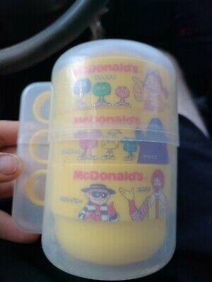 Vintage Japanese McDonald's Tea Cup Set