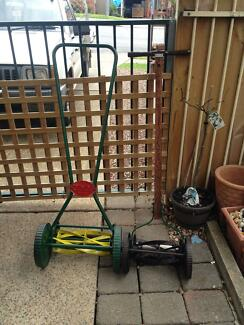2 x Fully Restored Vintage Push mowers Glendenning Blacktown Area Preview