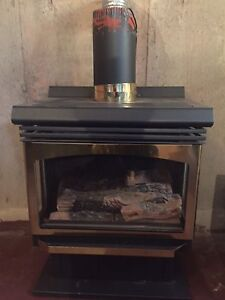 Propane heater / stove,  direct vented