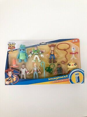 IMAGINEXT TOY STORY 4 DELUXE FIGURE PACK 8 PIECES
