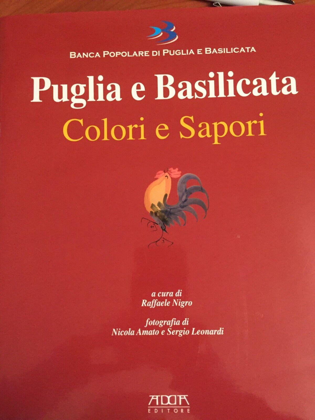 Libro Cucina Colori e Sapori Puglia e Basilicata