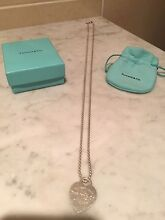 """Genuine Tiffany & Co """"Return to Tiffany Heart"""" Pendant Carlingford The Hills District Preview"""