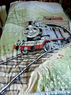 Vintage Fabric Thomas the Tank Engine Single Quilt Duvet Cover 1984 Horrockses