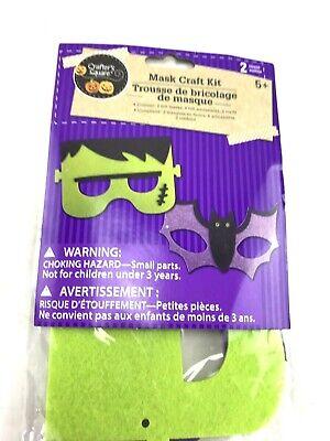 Frankenstein Mask For Kids (Frankenstein Bat felt mask kids craft kit)
