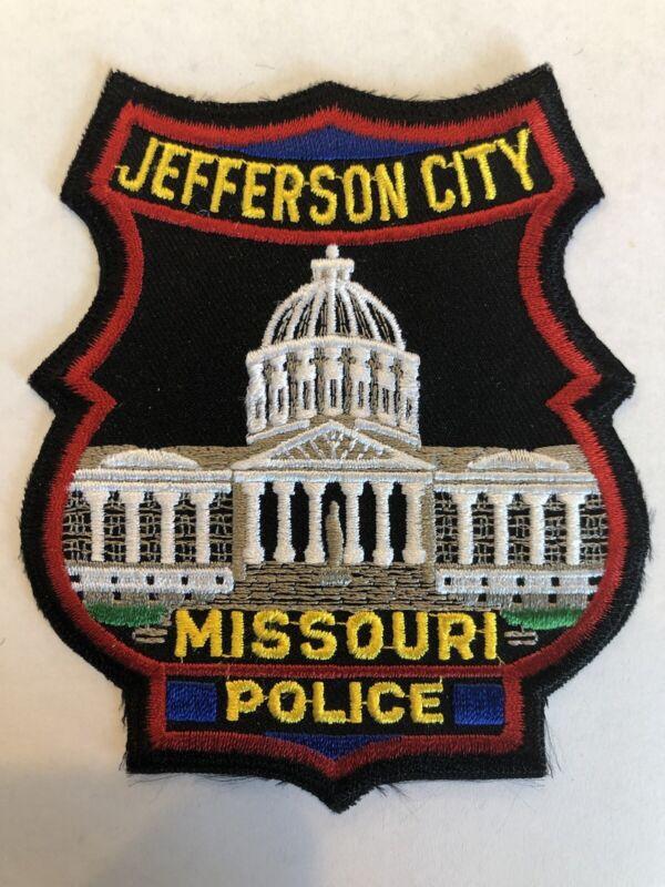 Jefferson City Missouri Police Patch~New Condition