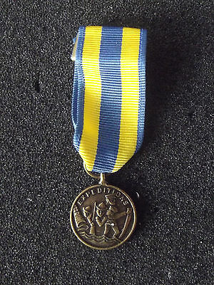 (A19-060) US Orden NAVY Expeditionary Medal  Miniaturorden US System