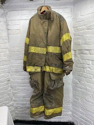 Firefighter Lion Apparel Pants W Suspender Jacket