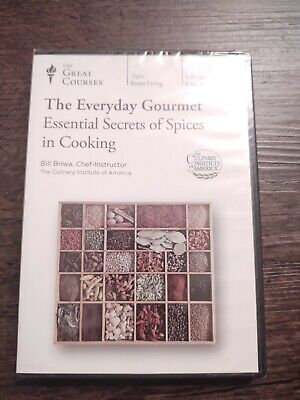 Great Courses THE EVERYDAY GOURMET Essential Secrets Of Spices  DVD NEW/SEALED