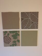 Wall art cork boards X 4 print Alexander Heights Wanneroo Area Preview