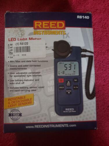 Reed R8140 LED Light Meter