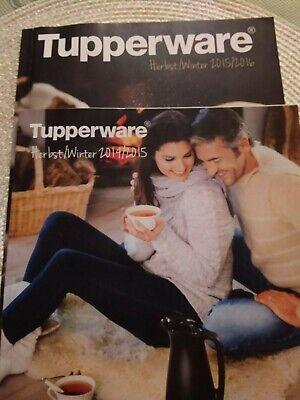 Kataloge Tupperware Herbst/Winter 2014 / 2015 und 2015/2016 gebraucht