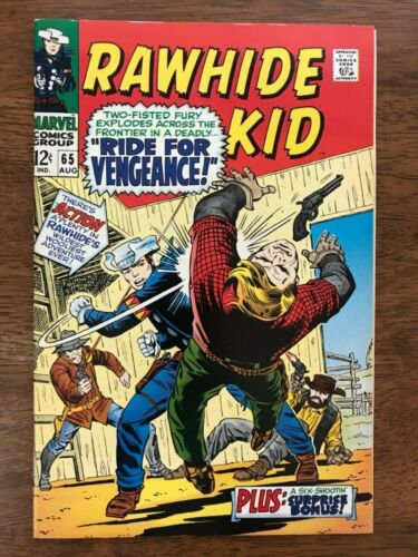 Rawhide Kid # 65 NM 9.4 White Pgs ! Perfect Spine ! Smooth ! Glossy !