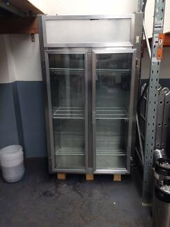 Commercial 2 Door Fridge NEEDS REGAS Marrickville Marrickville Area Preview