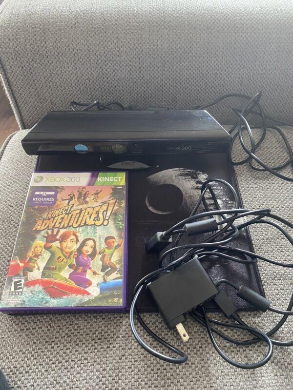 Official Microsoft Xbox 360 Kinect Sensor Bar & Kinect Adventures Kinect Game