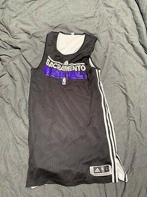 2011 Sacramento Kings Adidas Reversible Practice Jersey Large NBA Basketball