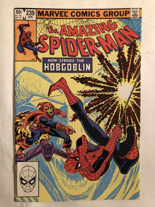 The Amazing Spider-Man #239 ( Marvel 1983 ) 2nd HOBGOBLIN Appearance!