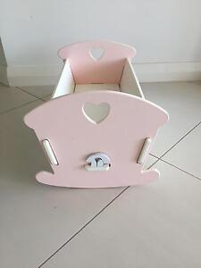 Wooden doll cot Kippa-ring Redcliffe Area Preview