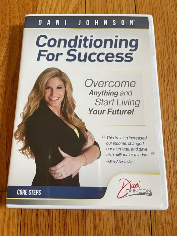 SEALED Dani Johnson Conditioning for Success - 3 CD Set - Core Steps