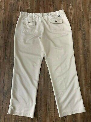 Adidas Climalite Men's Beige Golf Athletic Pants Size 40 x 32