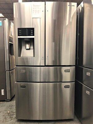 Samsung 28 cu. ft. 4-Door French Door Stainless Steel Refrigerator - RF28HMEDBSR
