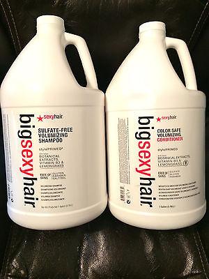 Big Sexy Haarfarbe Sicher Volumen Shampoo und Spülung Gallone Duo - Haar Shampoo Gallon