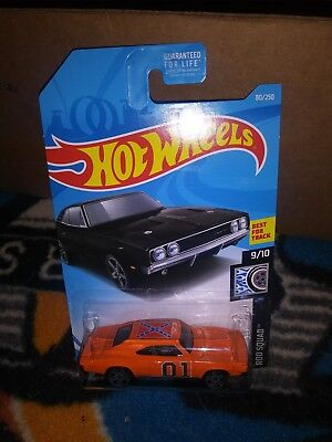 General Lee Dukes of Hazzard 69 Dodge Charger custom Hot Wheels .super