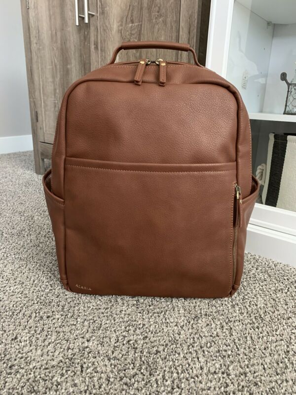 Azaria La Jolie Diaper Bag In Chestnut