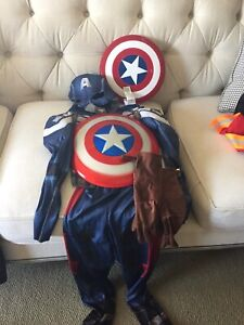 Captain America; Pirates of the Carribbean; Firefighter & Knight