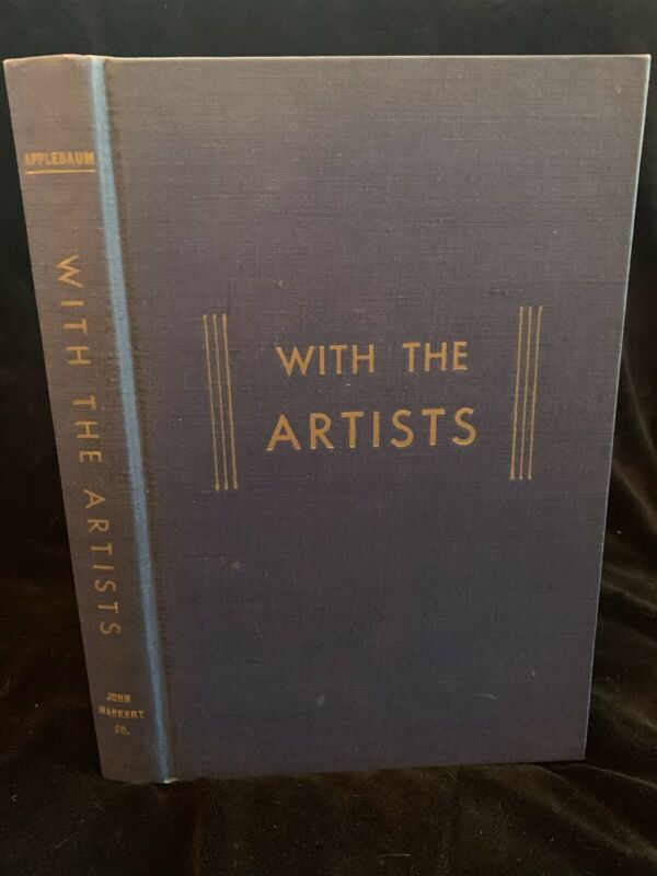 WITH THE ARTISTS (1955 1ST ED) & ALL 14 VOLUMES of THE WAY THE PLAY - Applebaum