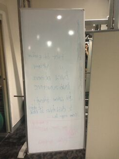 Whiteboard - 2100mm tall x 900mm wide