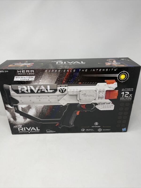 NERF Gun - RIVAL HERA MXVII-1200 - 12 Round Ammo Clip 12 Ammo Balls - NIB